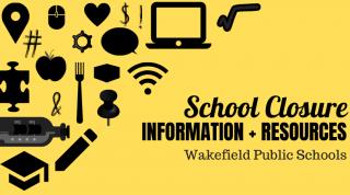 school closure graphic