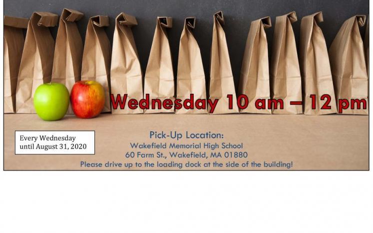 Grab & Go Breakfast Lunch every Wednesday through August 31, 2020 10 am - 12 pm